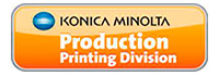 Konica Minolta Production Printing Division.