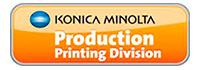 Konica Minolta Production Printing Division.